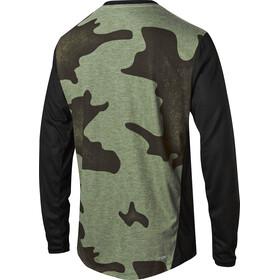 Fox Indicator Mash Camo Long Sleeve Jersey Men black